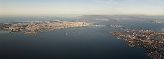 San Francisco Bay - San Francisco, Oakland, and the Bay Bridge, 2014