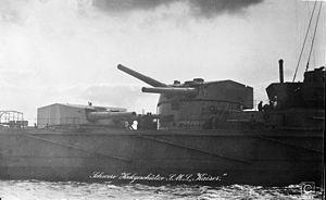 30.5 cm SK L/50 gun - Image: SMS Kaiser turrets aft 2