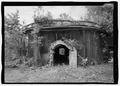 SOUTHEAST ELEVATION OF TRANSITIONAL KILN. - Jenkins Brick Company, Plant No. 2, Furnace Street, Montgomery, Montgomery County, AL HAER AL-185-4.tif