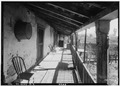 SOUTH BALCONY - SECOND STORY (REAR) - Blue Wing Inn, 133 East Spain Street, Sonoma, Sonoma County, CA HABS CAL,49-SONO,3-2.tif