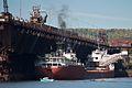 SS John G. Munson Loads Taconite in Two Harbors.jpg