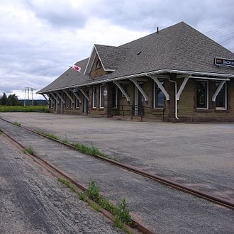 Sackville, New Brunswick - The Sackville railway station was completed in 1907