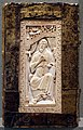 Sacramentario gregoriano della chiesa tridentina, VIII-IX secolo, avorio, 01.jpg