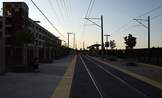 City College (Sacramento RT) - Platform, September 13, 2007