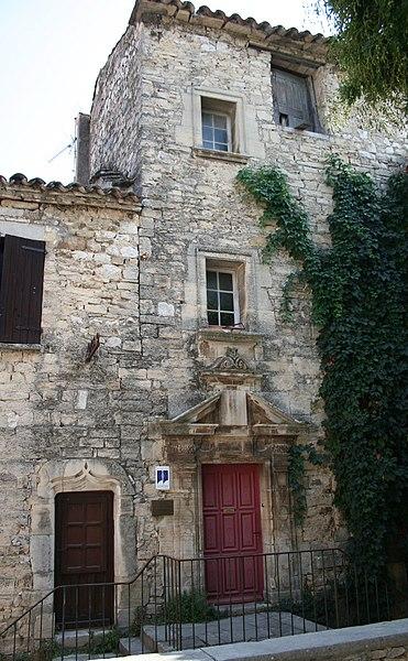 Saint-Martin-de-Londres (Hérault) - Ancienne maison.