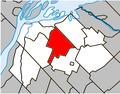 Saint-Robert Quebec location diagram.PNG