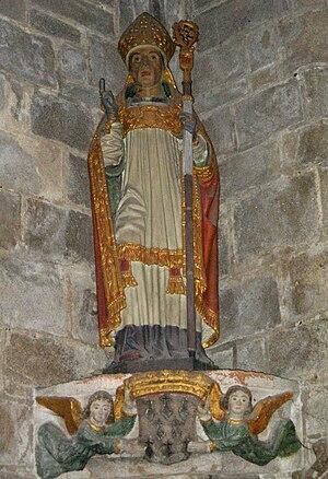 Ronan of Locronan - Image: Saint Ronan
