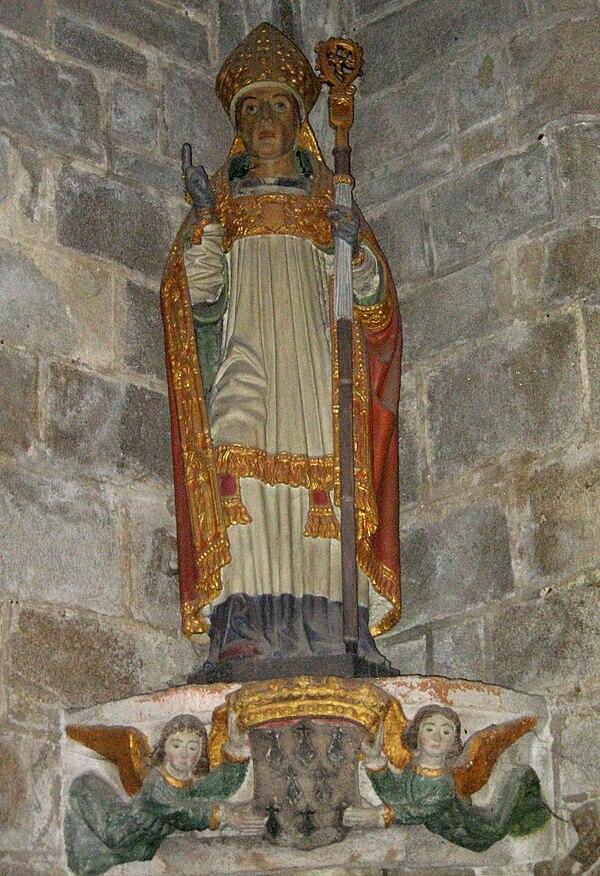Medieval breton saints - Saint maclou quimper ...