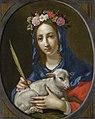 Saint Agnes by Cesare Dandini.jpg