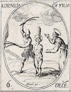 Denise, Dativa, Leontia, Tertius, Emilianus, Boniface, Majoricus, and Servus Christian martyrs