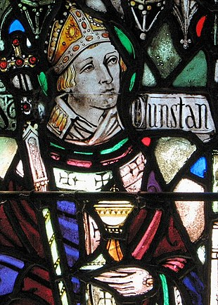 Dunstan, archbishop of Canterbury Saint Dunstan.jpg