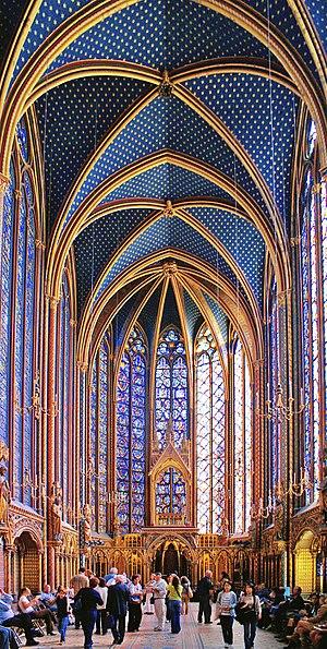 Sainte Chapelle - Upper Chapel, Paris, France