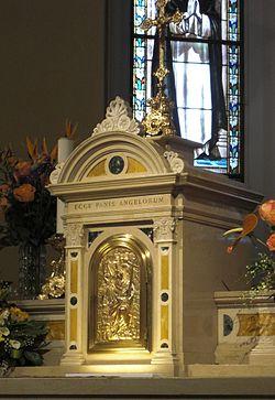 Sala di Cesenatico - Tabernacolo del santuario.jpg