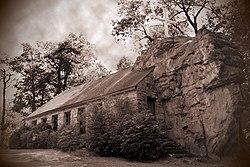 The Church Built Around a Rock - Mentone, AL - Roadside ...