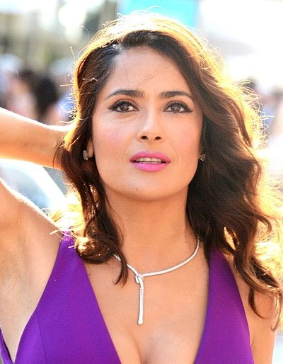 Salma Hayek, Mexican and American actress and producer