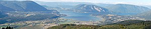 Salmon Arm - Image: Salmon Arm Panorama