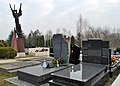 Salwator Cemetery, grave of Andrzej Szczeklik (Polish physician, professor of the Jagiellonian University School of Medicine), Waszyngtona Avenue, Kraków, Poland.JPG
