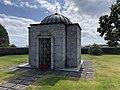 Sam Eyde 1866-1940 Mausoleum Gravsted Borre kirke (church) Horten (Oslofjorden Norway) Kirkegård gravlund (cemetery) 2021-07-08 IMG 8116.jpg