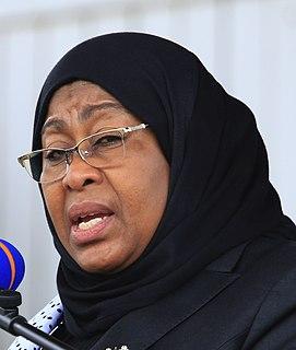 Samia Suluhu Hassan Sixth president of Tanzania