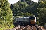 Sampford Peverell - CrossCountry 43304-43366 Plymouth to Leeds train.JPG