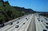Interstate 8 in San Diego