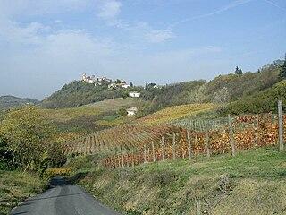 San Marzano Oliveto Comune in Piedmont, Italy