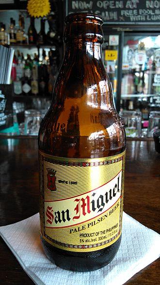 San Miguel Brewery - U.S. export-labelled San Miguel 1890 Pale Pilsen