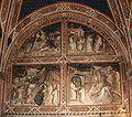 San Miniato al Monte (Florence) - Spinello Aretino fresco 1.JPG