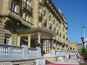 Imagen del Hotel María Cristina durante el Fes...