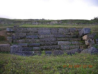 Pacopampa - Remains of the archaeological site of Pacopampa