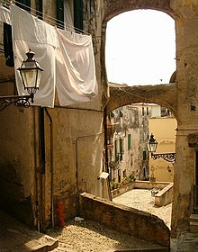 La Pigna, centro storico di Sanremo