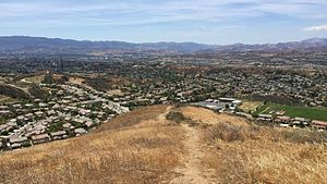 Santa Clarita Valley - View from the Sierra Pelona Mountains