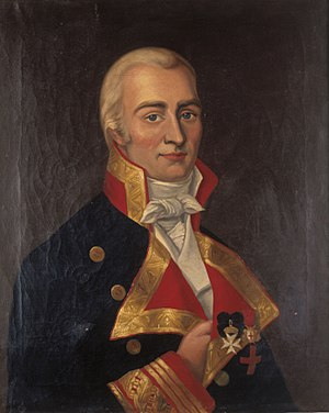 British invasions of the River Plate - Portrait of Don Santiago de Liniers. Naval Museum of Madrid.