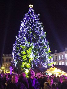 Plus grand sapin de noel d'europe