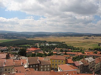 Saugues - A general view of Saugues