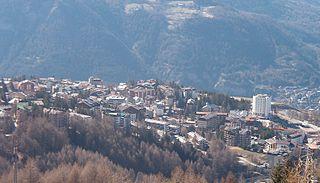 Sauze dOulx Comune in Piedmont, Italy