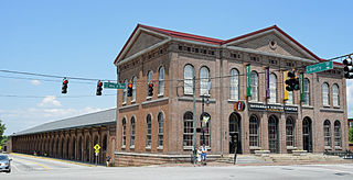 Central of Georgia Depot and Trainshed Historic buildings and museum