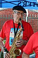 Saxophonist at Broadstairs Folk Week 2017, Kent, England 1.jpg