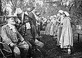 Scene from Evangeline (1913 film), garden of Billman Residence, Armdale, Nova Scotia, Canada, 1913.jpg