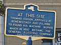 Schenectady Station Edison Historical Sign.jpg