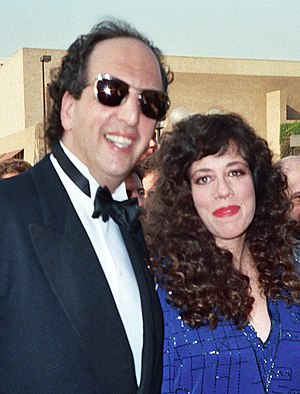 Allyce Beasley - Beasley and then husband, actor Vincent Schiavelli on September 20, 1987