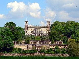 Loschwitz Borough of Dresden in Saxony, Germany