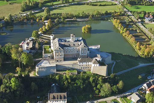 Schloss Trautenfels, Süd-Ansicht