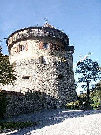 Vaduz Castle - Image: Schloss Vaduz