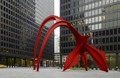 "Sculpture ""Flamingo"" at Federal Center Plaza, John C. Kluczynski Federal Building, Chicago, Illinois LCCN2010719975.tif"
