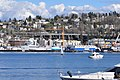 Seattle - seaplane ascending, seen from west shore of Lake Union - 02.jpg