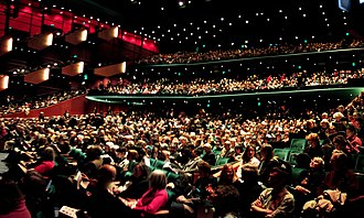 McCaw Hall - Interior of McCaw Hall in 2007