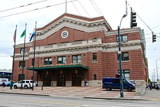 Union Station (Seattle) - The building's exterior in 2016