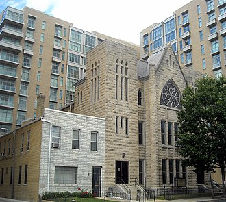 National Register of Historic Places listings in central Washington, D.C. - Image: Second Baptist Church Washington, D.C