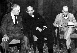 Second Cairo Conference - Roosevelt and İnönü got what they wanted, while Churchill was a bit disappointed of the result.